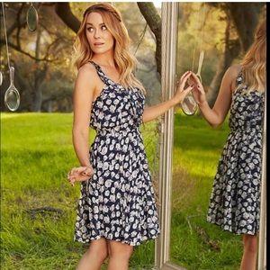 Lauren Conrad's Alice in Wonderland ruffle dress